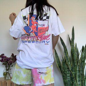 Vintage Shirts - Vintage Summer Nationals Car Racing T-shirt